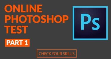 Online Photoshop Test Part 1