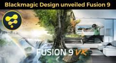 blackmagic design fusion 9 vr