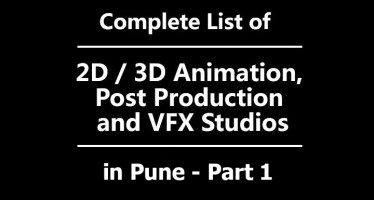 Animation and VFX Studios in Pune listing
