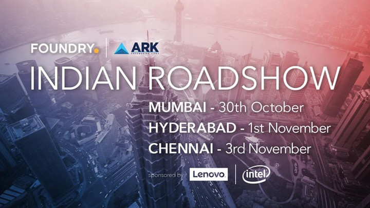 foundry india road show 2017