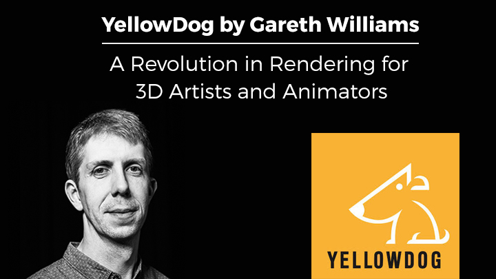 YellowDog by Gareth Williams 3D rendering