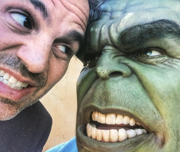 mark hulk face bruce banner