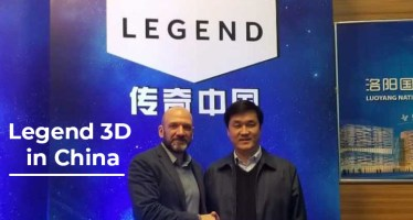 legend 3d in china