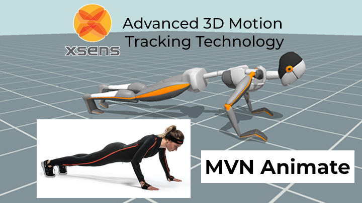 Motion Capture Software by Xsens: MVN Animate with Animate Engine
