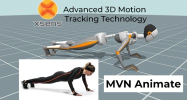 Motion Capture Software MVN Animate Xsens
