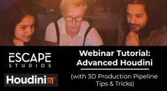 Advanced Houdini tutorial webinar