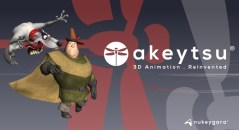 Akeytsu from Nukeygara 3D Animation Software
