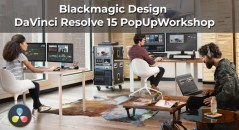 Blackmagic Design DaVinci Resolve 15 PopUpWorkshop