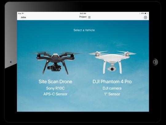 3dr site scan drones phantom