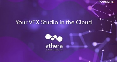 foundry athera vfx studio post production pipeline in cloud