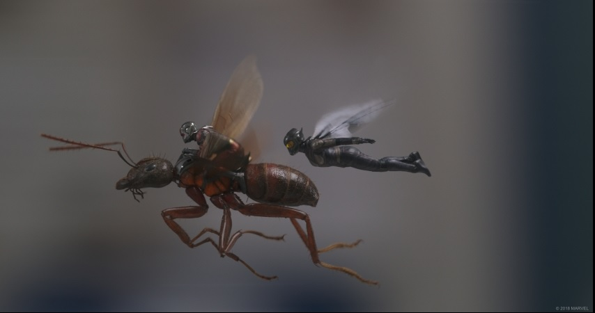 making of ant man and wasp