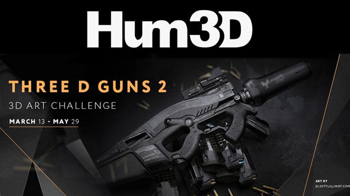 3D art challenge by hum3d