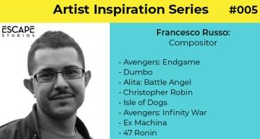 Artist Inspiration Series Francesco Russo