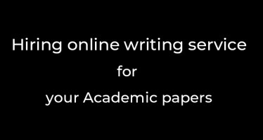 Hiring online writing service academic papers