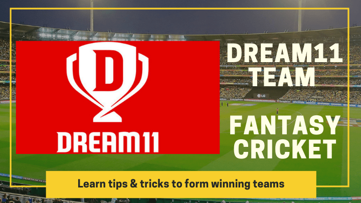 Dream11 team Fantasy Cricket tips & trick form winning teams