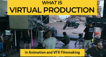 what is virtual production in Animation and VFX Filmmaking