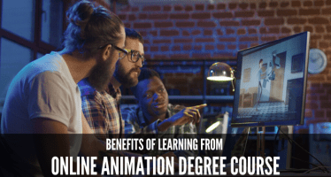 Benefits of learning from online Animation Degree course