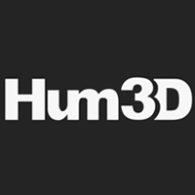 hum 3d logo