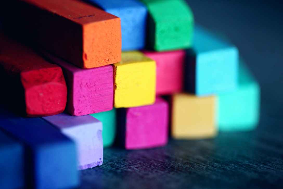 art materials art supplies blocks blur