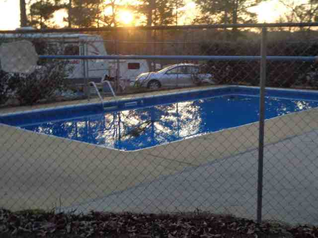 pool in the rv park