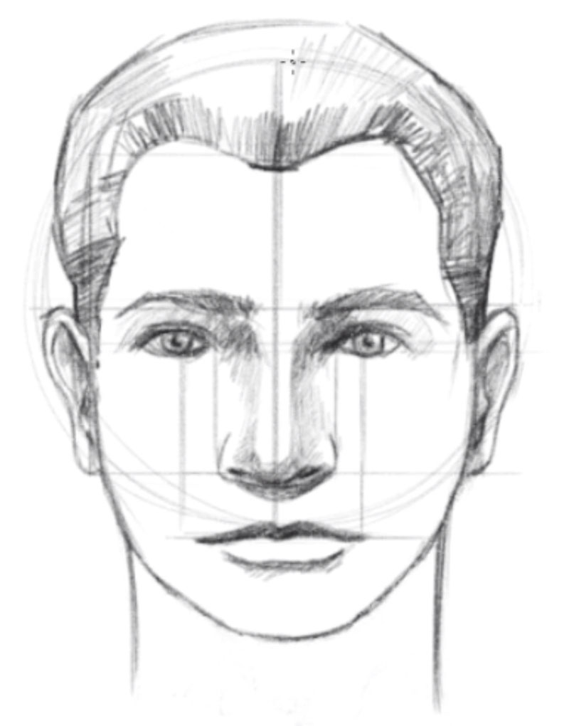 medium resolution of how to draw a face step 11 draw the neck