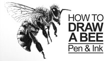 Pen and Ink Stippling Lesson Plan