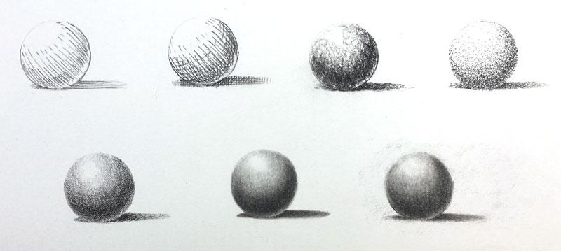 graphite drawing techniques pencil