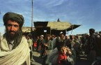 Kabul, Afghanistan -- Market in central Kabul 12/01 (Photo by Bikem Ekberzade)