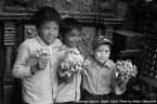 Kathmandu, Nepal -- Children in Dattatreya Square, Nepal. Photo by Bikem Ekberzade