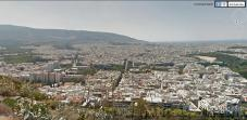 Views across Athens from Lycabettus Hill