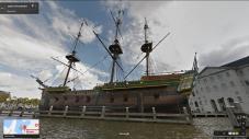Old ship, Amsterdam, Netherlands