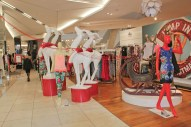 myer christmas visual merchandising
