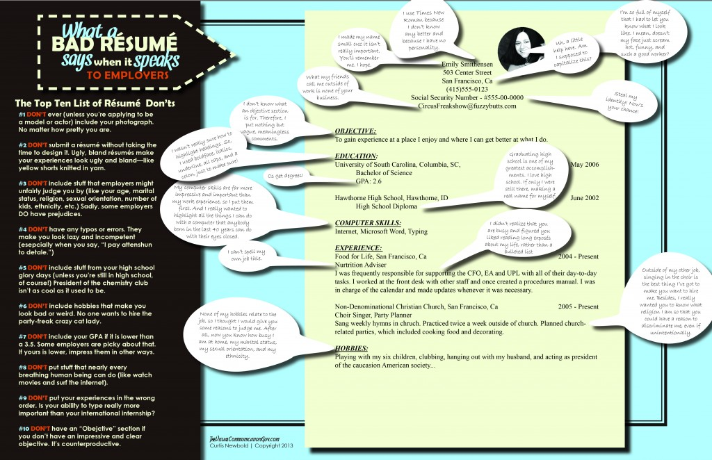 Infographic BadResume
