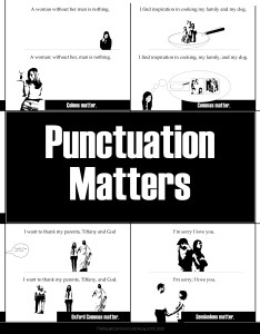 Punctuation matters hilarious proofs that correct usage makes  big difference also search results for      the visual communication guy rh thevisualcommunicationguy