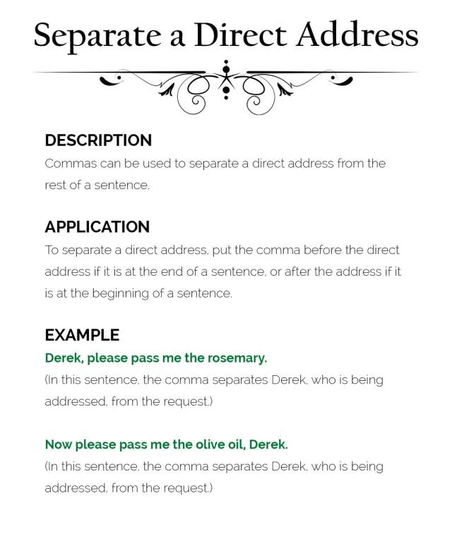 How to Use Commas – The Visual Communication Guy