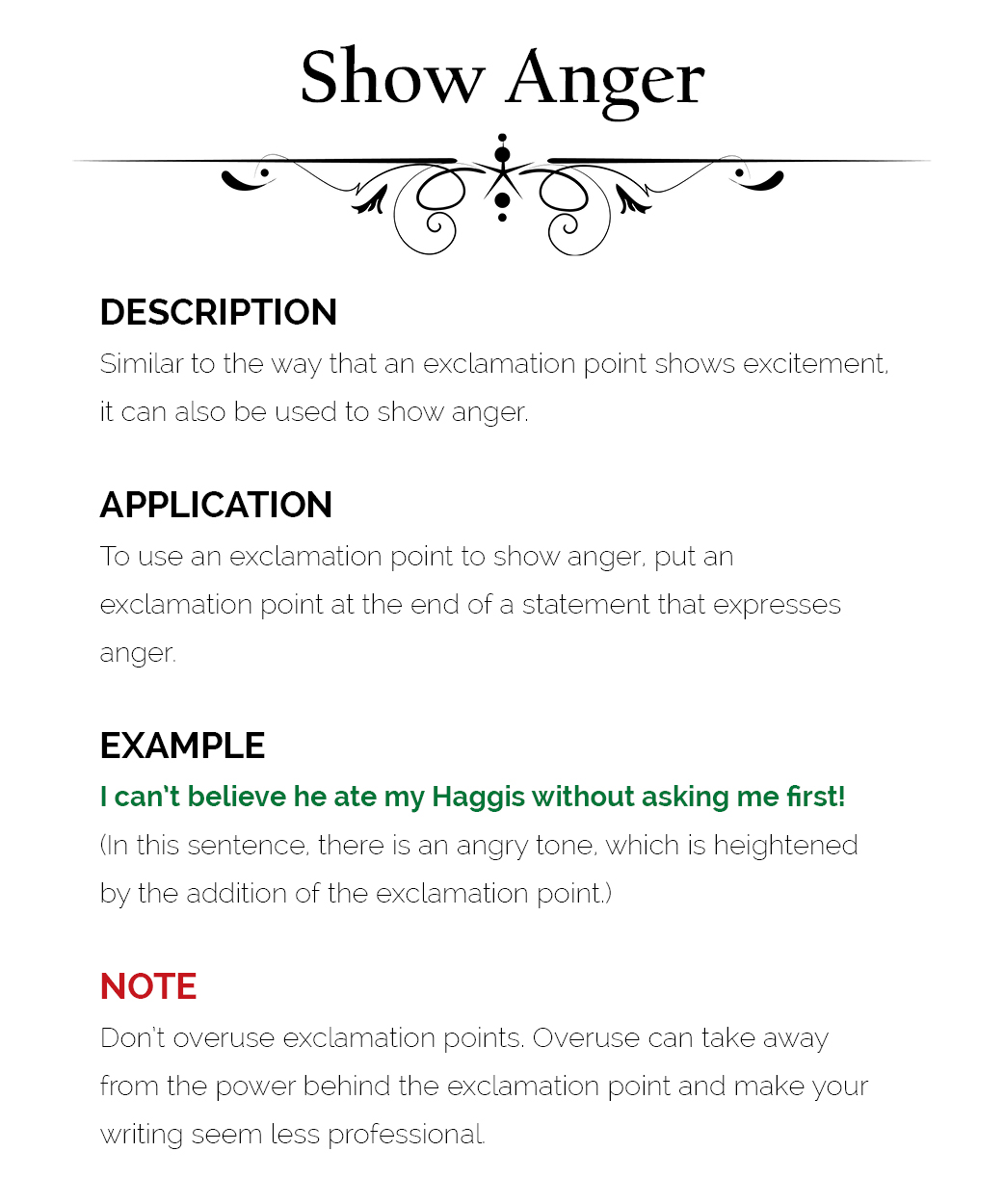 How To Use Exclamation Marks The Visual Communication Guy