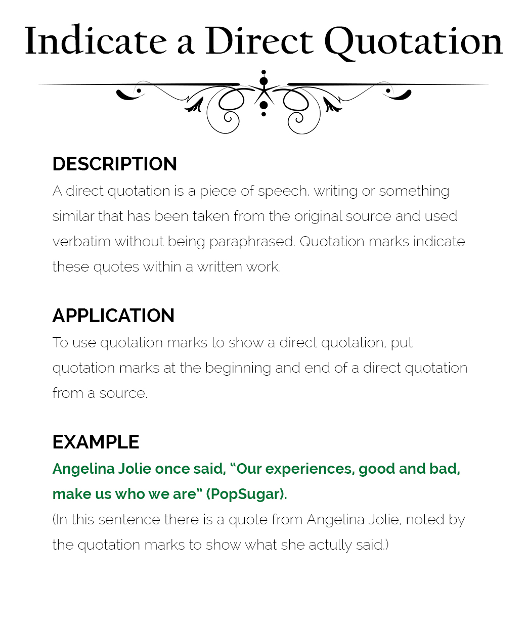 How To Use Quotation Marks The Visual Communication Guy Designing Information To Engage