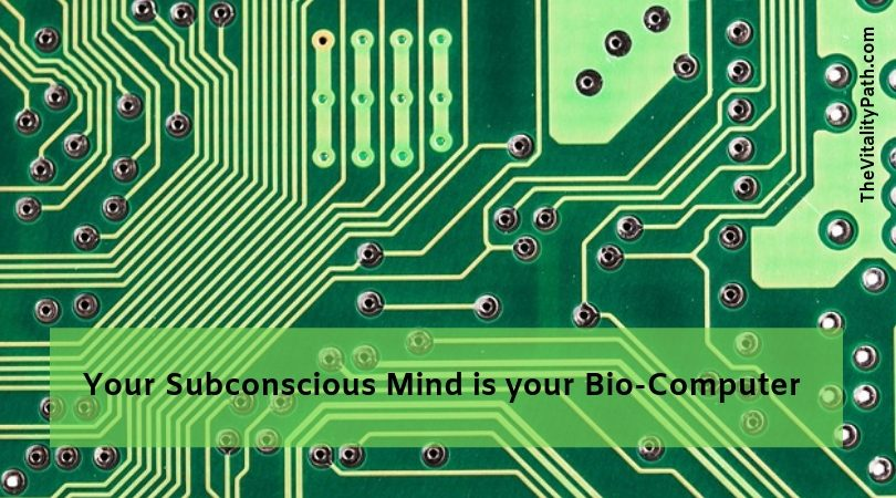 Most of of the power of your mind is in your subconscious, the hard drive of your bio-computer.
