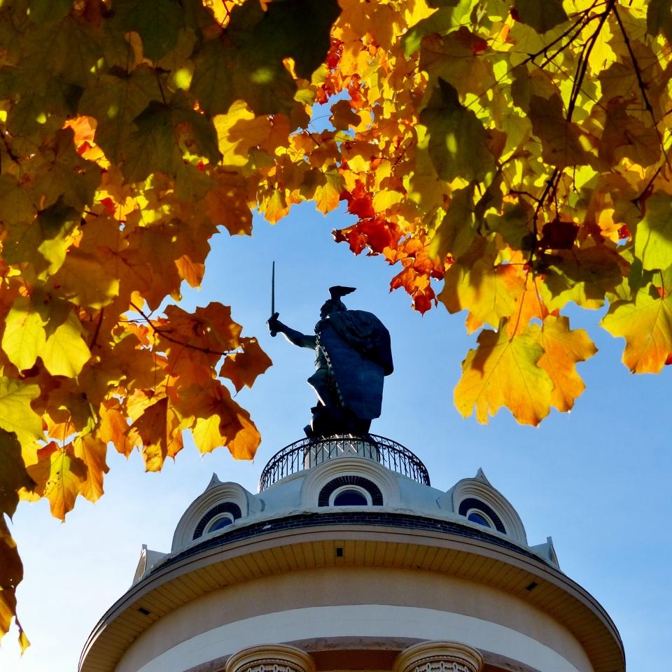 Hermann the Germann in fall New Ulm_Carolyn Marti Smith