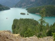 Miglės: Turquoise color Ross Lake