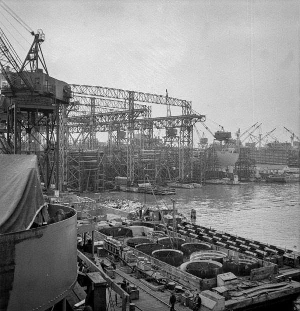 Shipyards Building Liberty Ships
