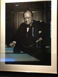 Winston Churchill by Joseph Karsh