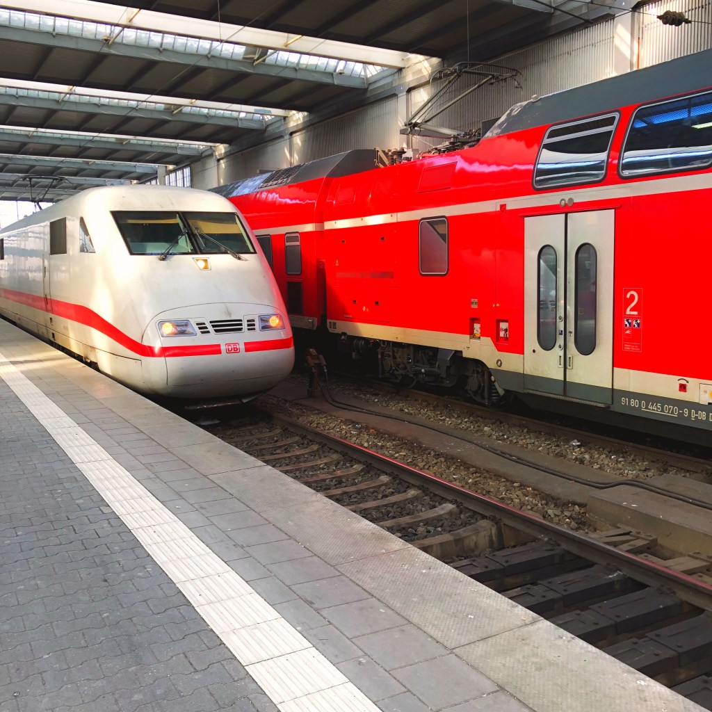Germany: One End to the Other, by Train