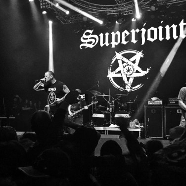 Superjoint Live, 11/12/16. Photo by J. Kevin Lynch.
