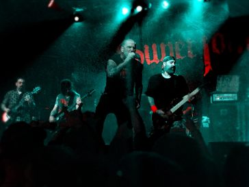 Superjoint, Live at the Rail Club. Photo by J. Kevin Lynch