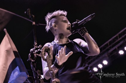 Otep @ Gas Monkey Bar n' Grill, Dallas, TX. Photo by Corey Smith.