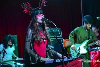 Le Butcherettes @ Club Dada, Dallas, TX. Photo by Corey Smith.