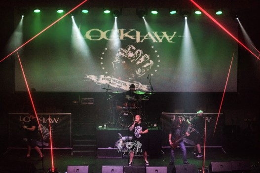 Lockjaw @ Ridglea Metal Fest. Photo by Brently Kirksey.
