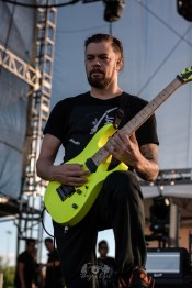 After The Burial @ So What?! Music Festival. Photo by Brently Kirksey.