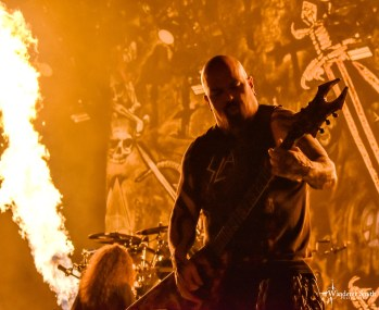 Slayer @ The Pavilion at Toyota Music Factory, Irving, TX. Photo by Corey Smith.